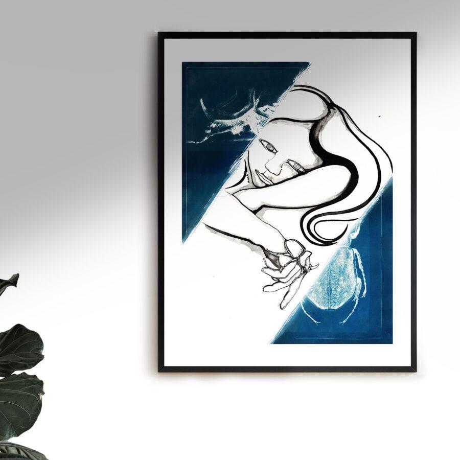 Blu e nero #1