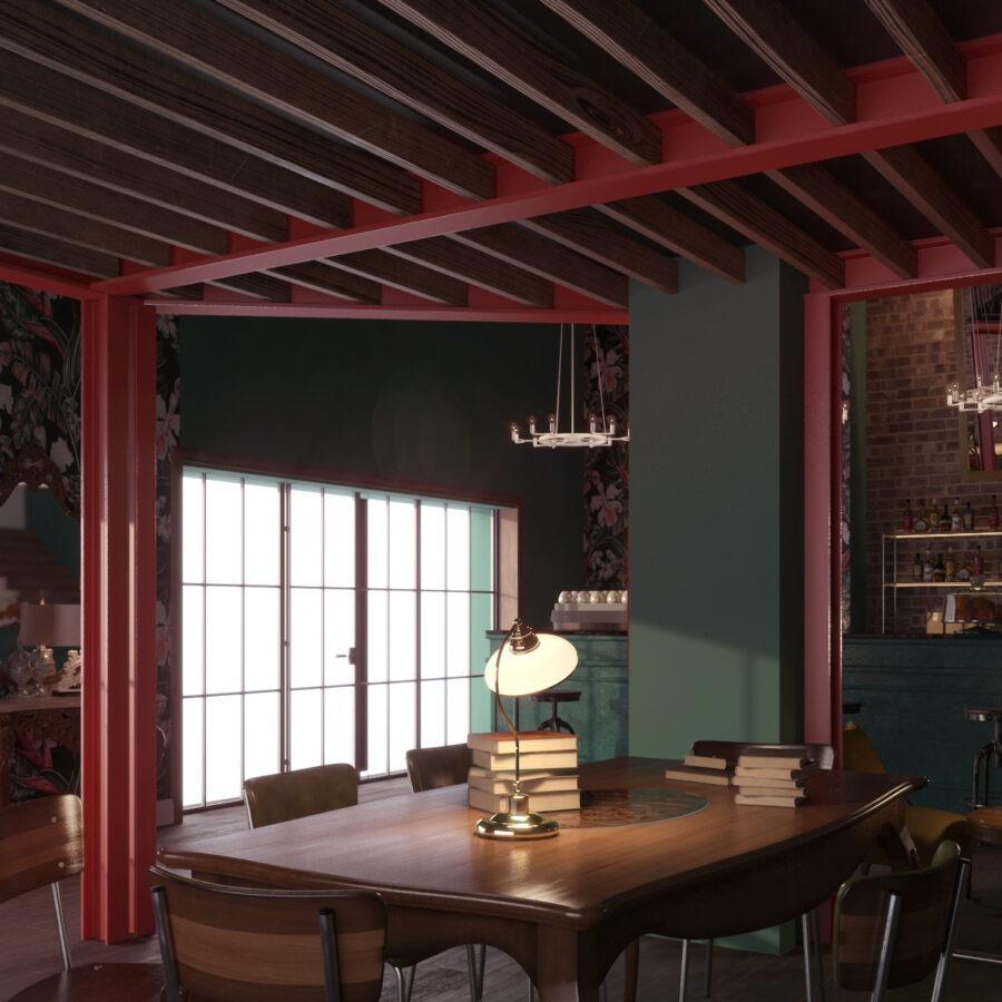 Caffè letterario – Decoraction studio