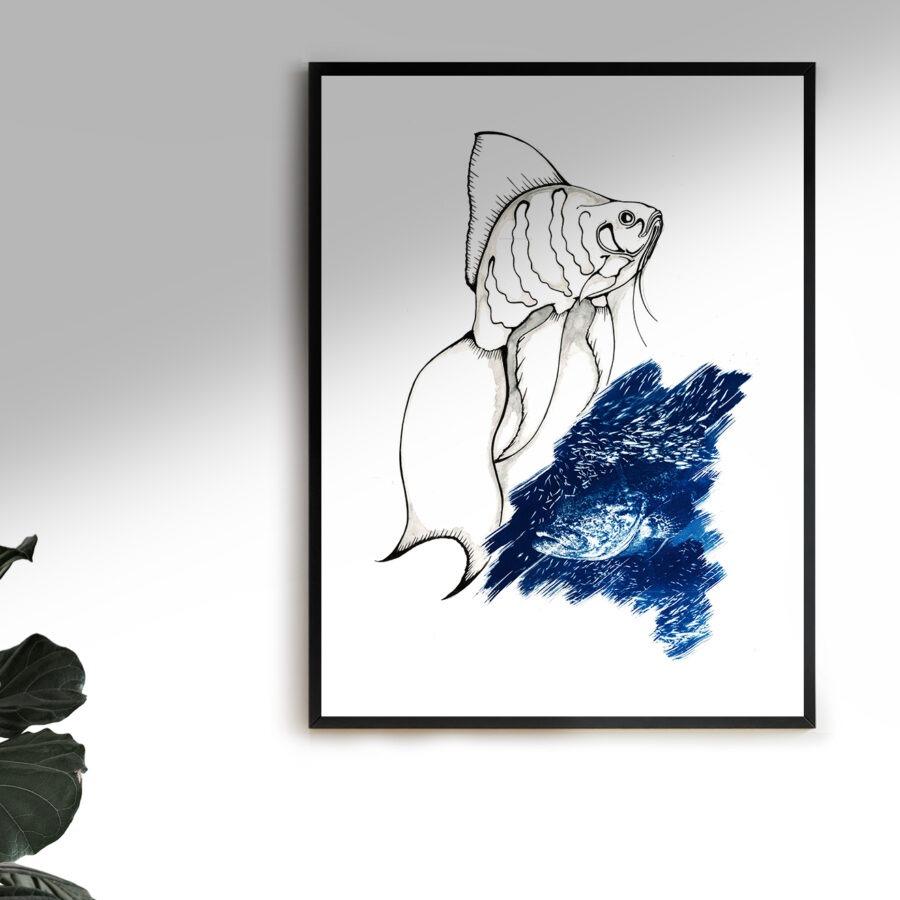 Blu e nero #2