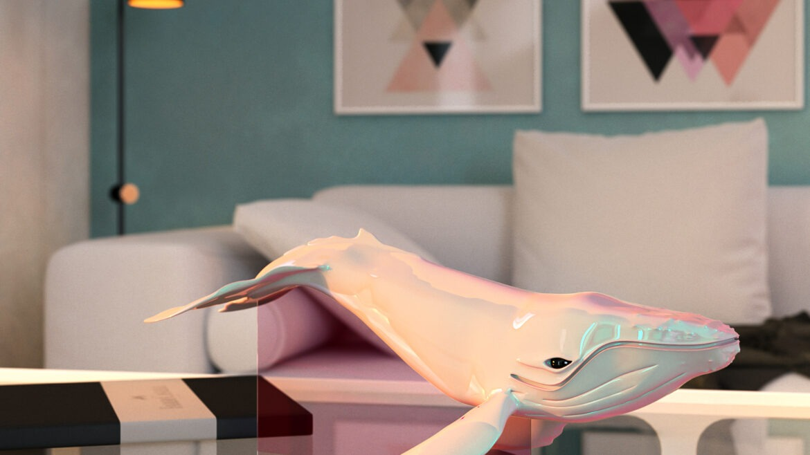 3D whale free download